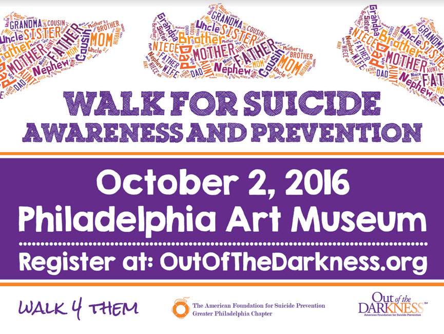 Info Walk For Suicide Awareness And Prevention October 2